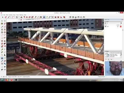 FIU Pedestrian Bridge Collapses Under Own Weight - SketchUp