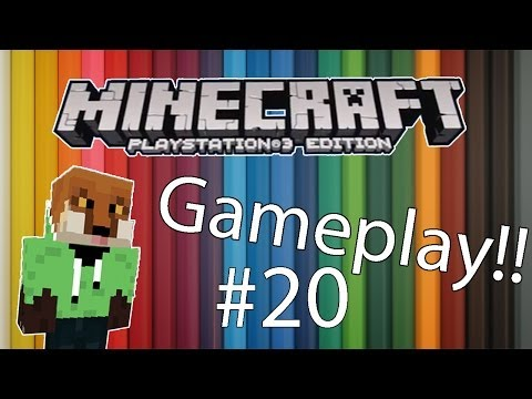 PS3 Minecraft Gameplay! Part 20 (Enchantment Table!!!)