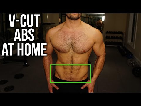 Best Home V-Cut Abs Workout That You NEED to Try (NO EQUIPMENT!!)