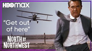 North by Northwest   A Crop Duster Attacks Roger in the Middle of Nowhere   HBO Max