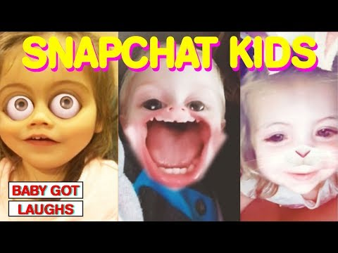Funniest Snapchat Babies! HILARIOUS Kids Using Face Filters YOU WILL LAUGH MAY 2018