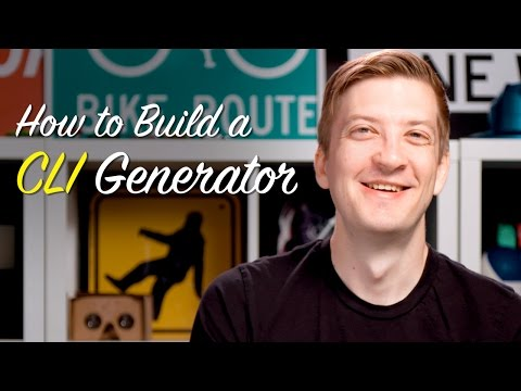 How to build a CLI generator -- Polycasts #53