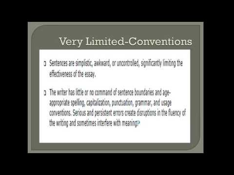 Expository Writing Rubric Calibration Training