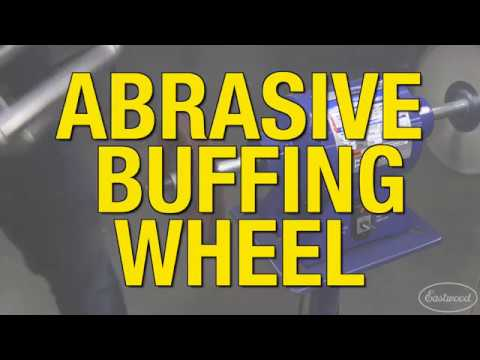 How to Get a Smooth & Even Finish on a Stunt Bike Cage - Abrasive Buffing Wheel from Eastwood