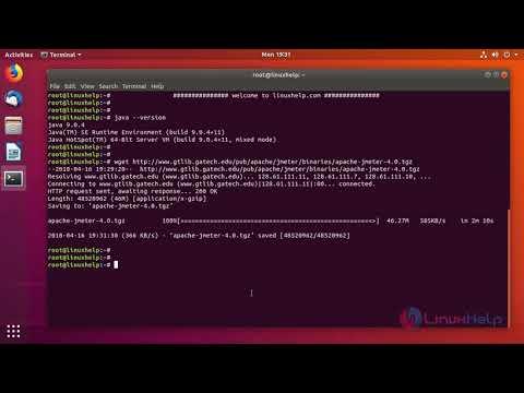 How to install Apache Jmeter on Ubuntu 18.04