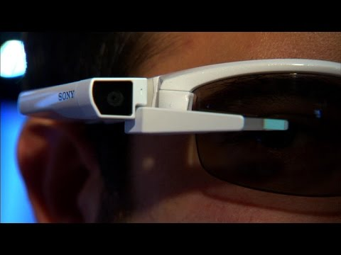 Smart Eyeglass Attach! is like Google Glass you snap on your own frames
