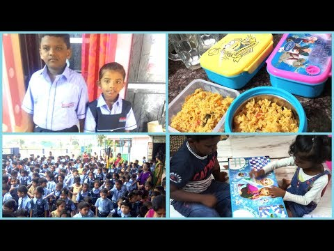 #DIML June 11th vlog/kids1st day of New School/Routine Breakfast & Lunch preparation for kids