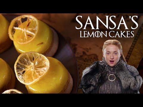 Sansa's Lemon Cakes [BA Recipes]
