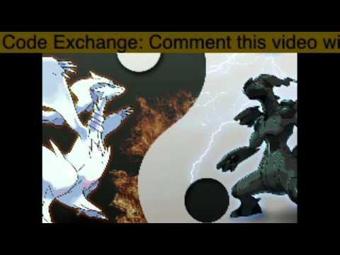 Pokemon Black/White WiFi Friend Code Exchange