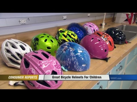 Great Bicycle Helmets For Children