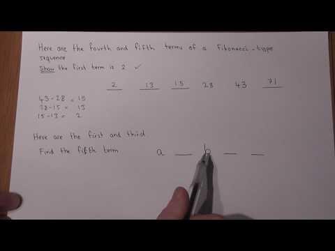 GCSE Maths: sequences and fibonacci