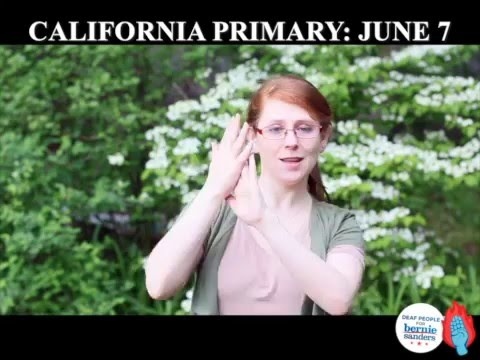 ASL Guide for California Voters - Primary on June 7th!