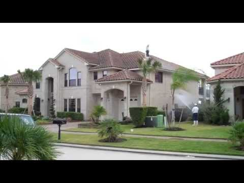.Barrel Tile Roof Cleaning in the Windsor Park Lakes subdivision of Houston Tx 1-of-2