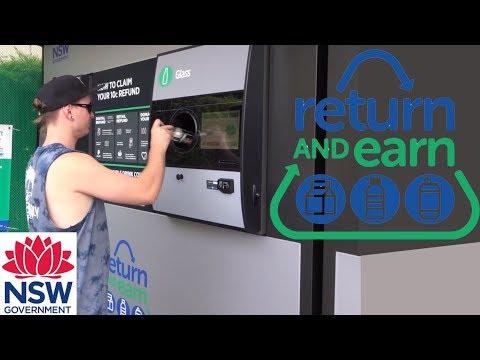 Return and Earn NSW  Earn 10c each can/ bottle