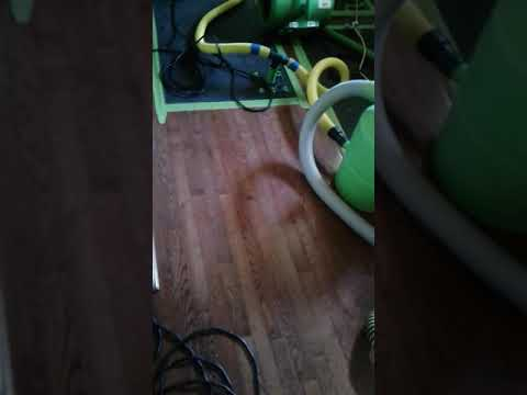 Water damage in Palmyra NJ, E Tes drying, extraction, SERVPRO, Live Video,