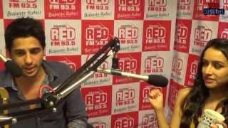 Download Shraddha Kapoor and Siddharth Malhotra in Rapid Fire with RJ Malishka Video