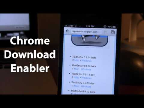 Chrome Download Enabler - Download Files From Chrome iOS on iPhone
