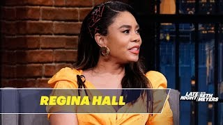 Download Tyra Banks Called Security on Regina Hall Video