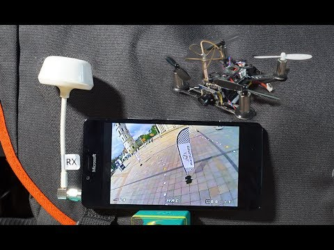 How to use Tablet, Phone Screen as FPV monitor, FPV Goggles