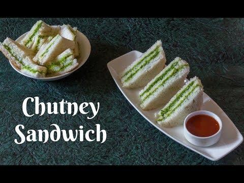 Chutney Sandwich-Green Chutney Sandwich-Kids Lunchbox ideas-Kalimirchbysmita