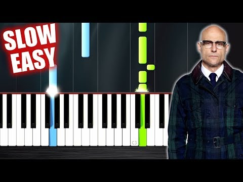 Take Me Home, Country Roads (Kingsman 2) - SLOW EASY Piano Tutorial by PlutaX
