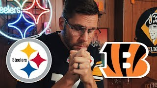 Dad Reacts to Steelers vs Bengals (Week 13)