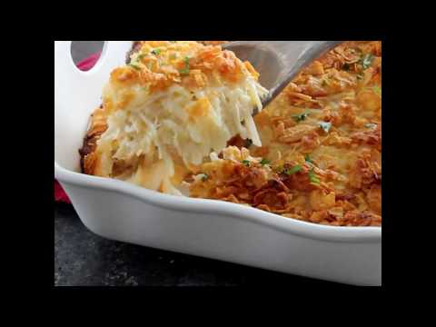 Cheesy Hash Brown Chicken Casserole