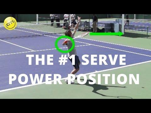 Serve Power Tip: The #1 Serve Power Position