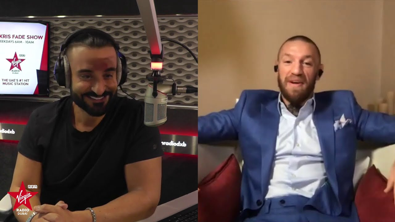 Conor McGregor on The Kris Fade Show - full interview