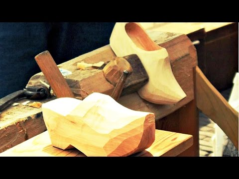 How Wood Shoes Are Made
