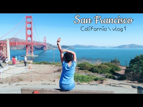 San Francisco   Golden Gate Bridge, Alcatraz Island, Union Square   Travel Vlog 1