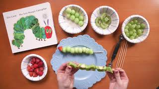 The Very Hungry Caterpillar | Crafts for Kids  | Fruit Skewers