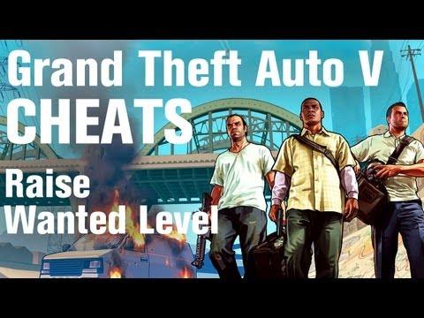 GTA 5 Cheats - Raise Wanted Level