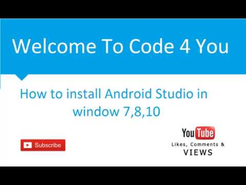 How to Install Android Studio with Java JRE/JDK 8 on Microsoft Window 7 | 8 | 10 Step By Step