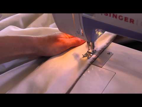 Making Curtains & Pillows - How To Make Lined Curtains