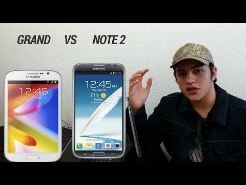 Samsung Galaxy Grand vs Samsung Galaxy Note 2 (HD)