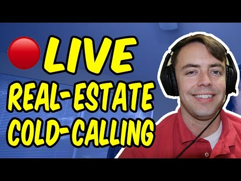 LIVE Real-Estate Cold-Calling - (2 SELLER LEADS)