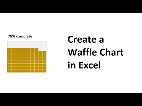 Create a Waffle Chart in Excel to Visualise Progress