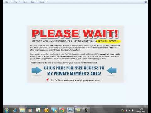 Email Marketing Aweber Save Strategy   Aweber Buyers List Setup