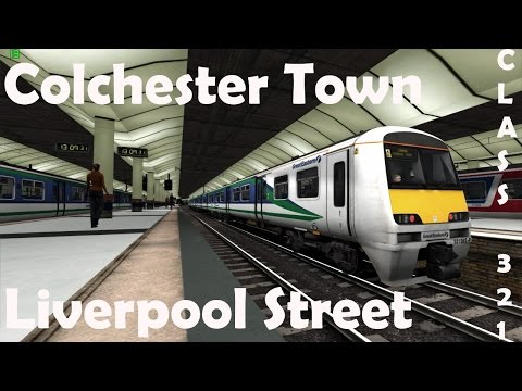 TS2015 | Colchester Town - London Liverpool Street | Class 321