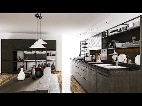 3ds max render - 3ds max vray render - vray settings - Interior rendering with vray 3.4 for 3ds max
