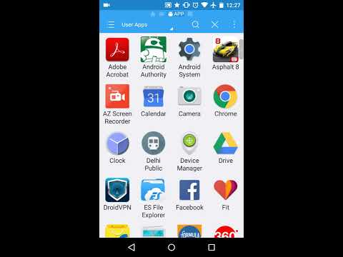How to save apk file of any installed application