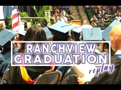 See Your Favorite Student Graduate - Ranchview Graduation 2018