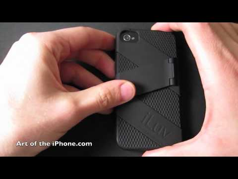 Review of iLuv Fusion iPhone 4 Case and Stand