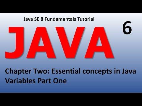 Java Introduction - Essential Concepts Variables Epi 6
