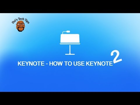 How to use Keynote