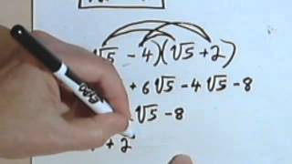 Multiplying Radical Expressions 5 5