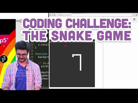 Coding Challenge #3: The Snake Game