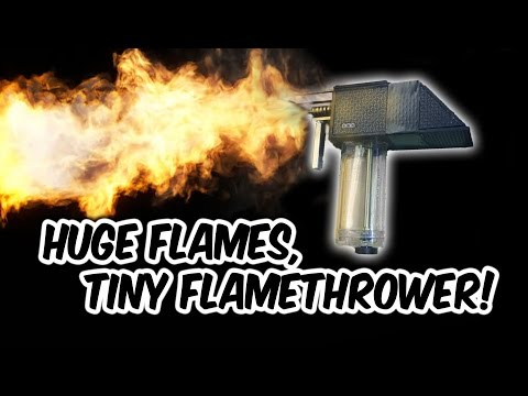 Awesome DIY Mini Flamethrower. Complete Tutorial (every step).