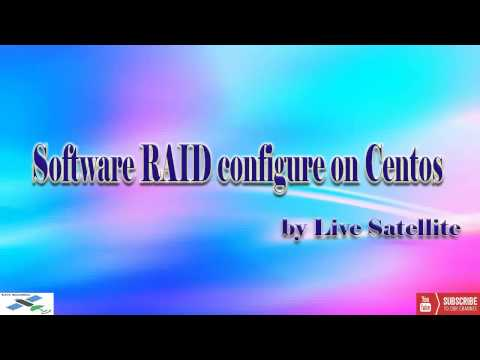Software RAID on Centos and LVM